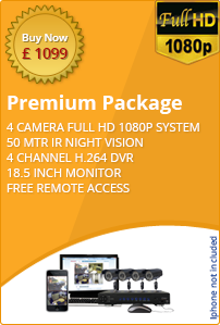 Premium business CCTV package