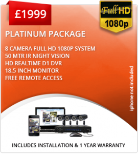 Platinum Business CCTV package