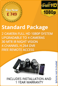 Home CCTV standard package 2 cameras