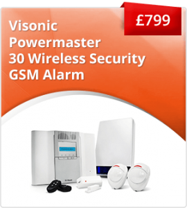 Visonic Powermaster wireless alarm system