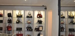 Commercial CCTV installation in a shop boutique