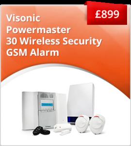 Visonic Powermaster GSM alarm package £899
