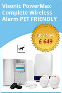 Visonic PowerMax Pet Friendly Complete Wireless Alarm