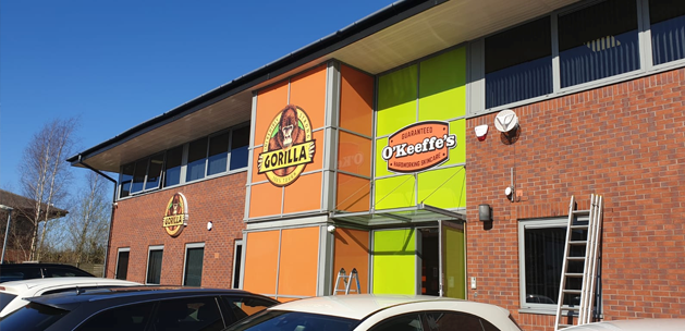 4K CCTV installation for Gorilla and O'Keefe's