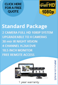 2 HD cameras for business - standard package