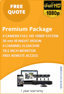 premium business cctv package details free quote